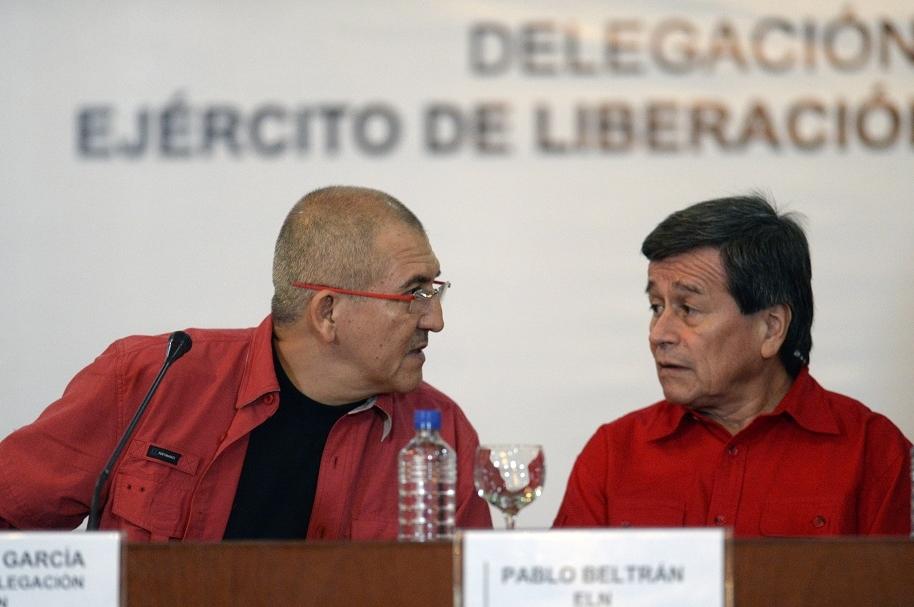 Diálogos de paz gobierno y Eln