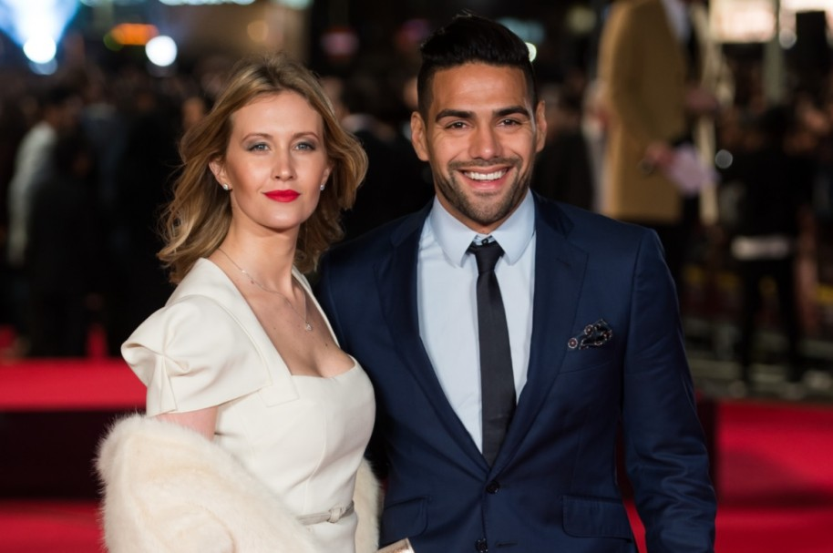 Falcao esposa Getty
