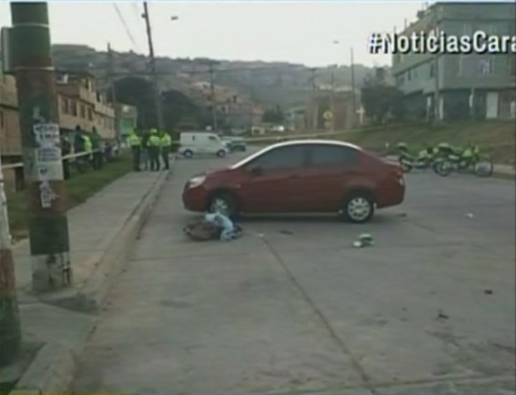 Registro del accidente