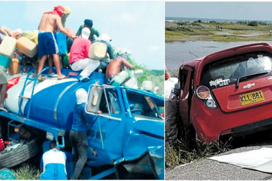 Accidente de familia en Santa Marta