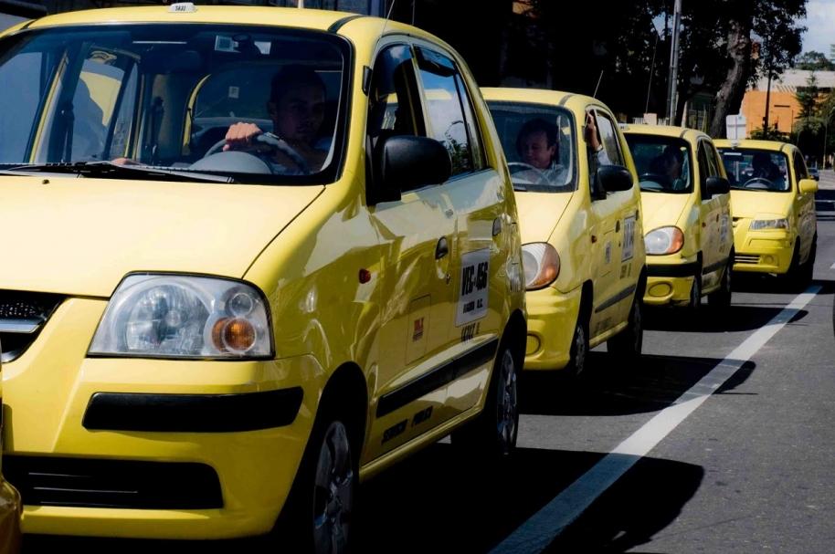 Taxis Bogotá ilustración