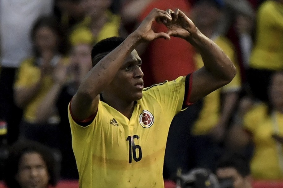 yerry mina getty