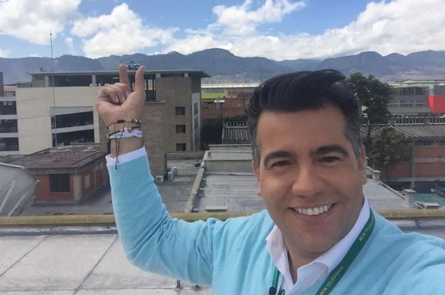 El presentador Carlos Calero, nuevo Cónsul de Colombia en San Francisco (Estados Unidos).