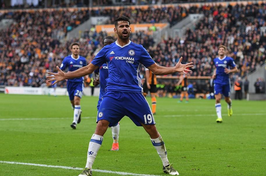 Diego Costa, jugador del Chelsea