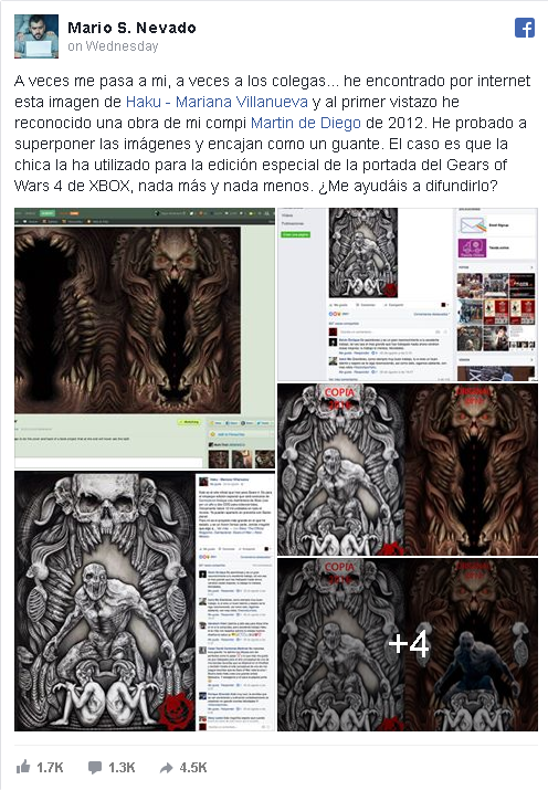 Plagio Gears of war