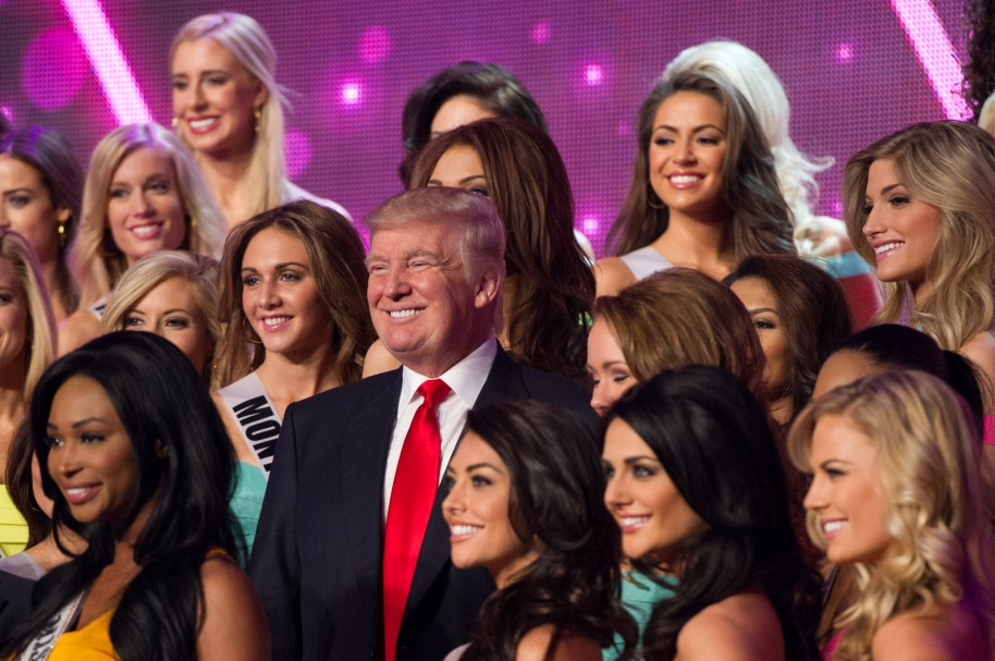 Donald Trump Miss Teen USA