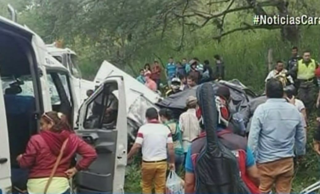 Accidente en Garzón, Huila