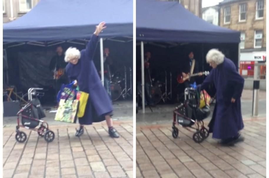 Abuela bailando 'Highway To Hell'. Pulzo.com