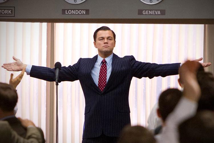 Leonardo Dicaprio en 'El lobo de Wall Street'.