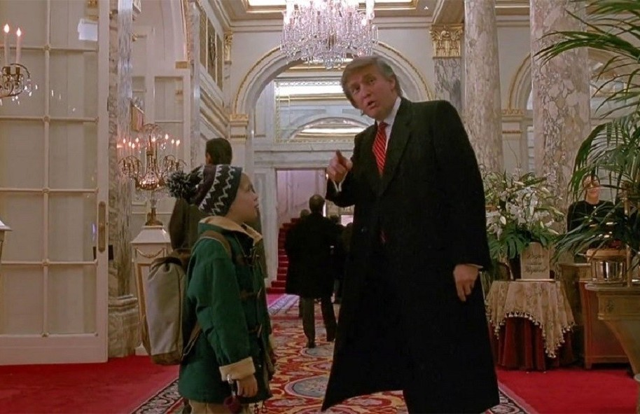 Donald Trump en 'Home alone 2'