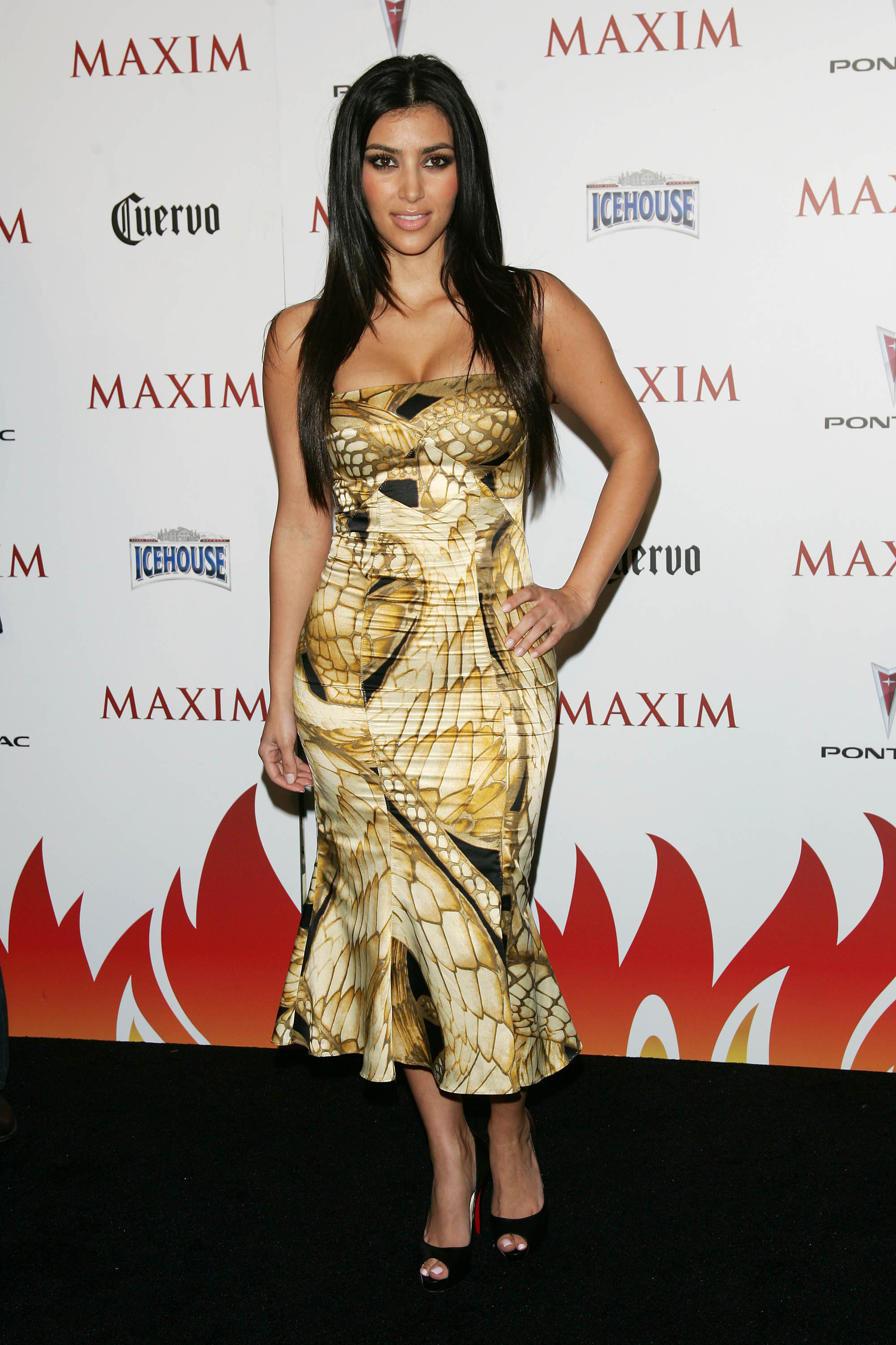 Kim Kardashian Maxim Hot 100 Party