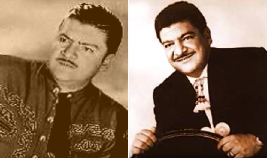 José Alfredo Jiménez, cantante mexicano.