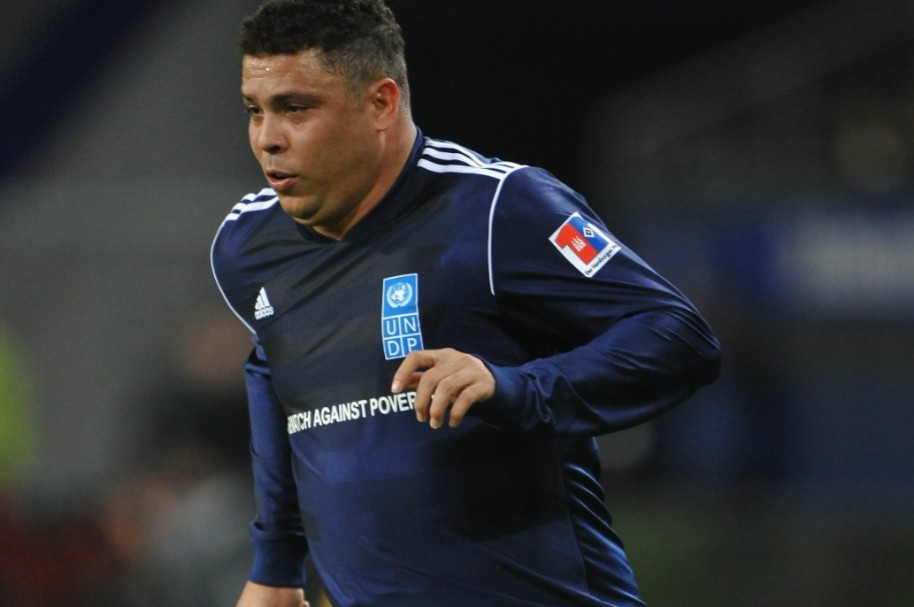 Ronaldo Nazario Getty