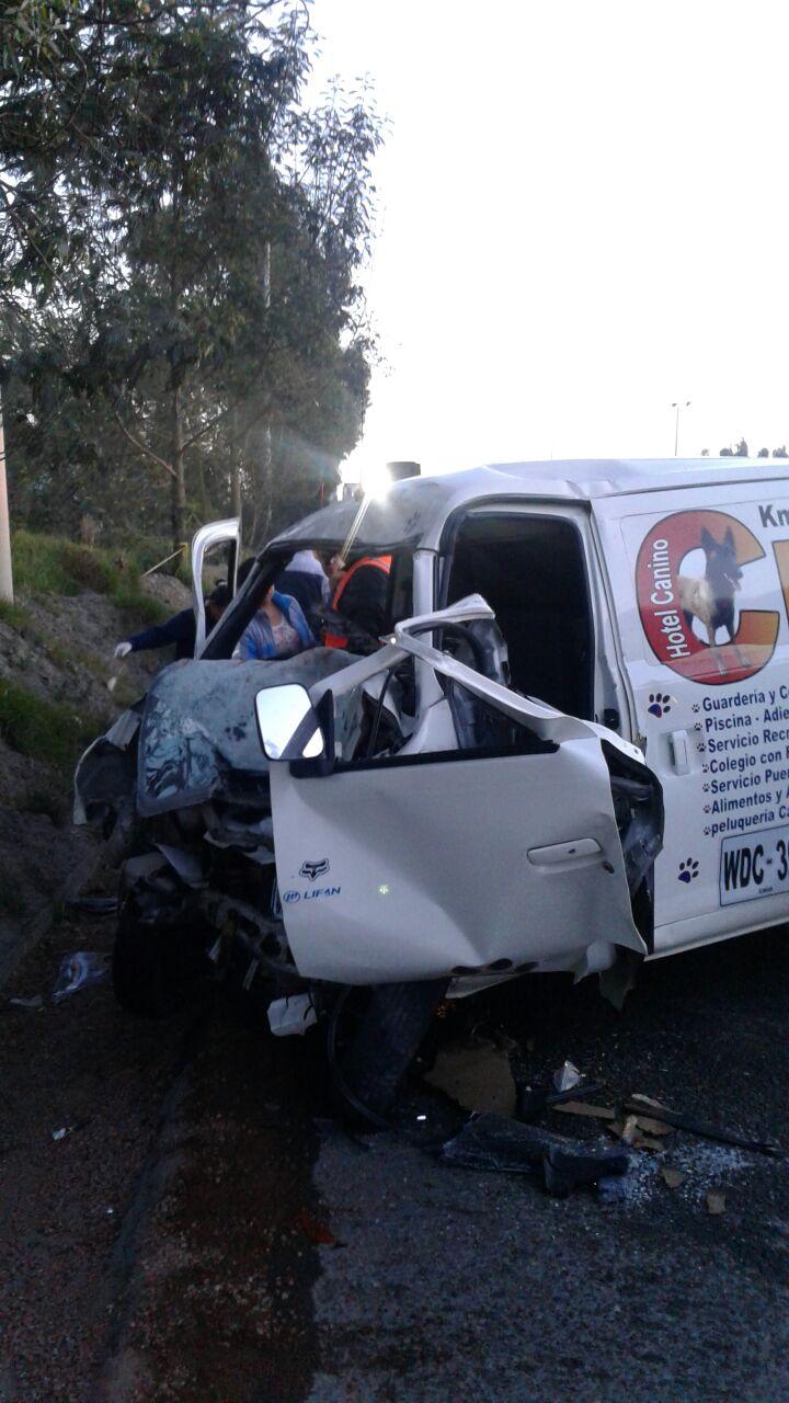 Accidente vía Cota-Chía