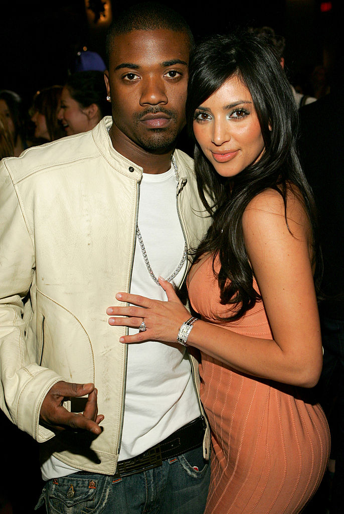 Ray J y Kim Kardashian.
