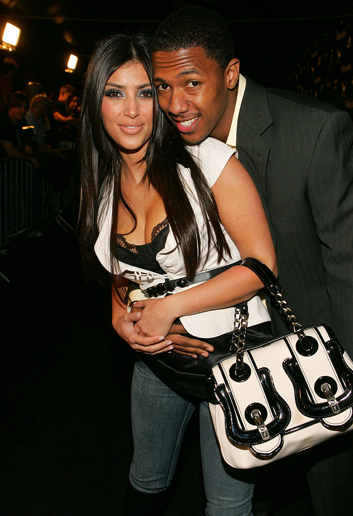Kim Kardashian y Nick Cannon.