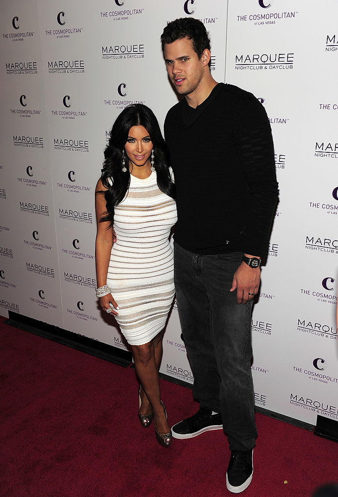 Kim Kardashian y Kris Humphries.
