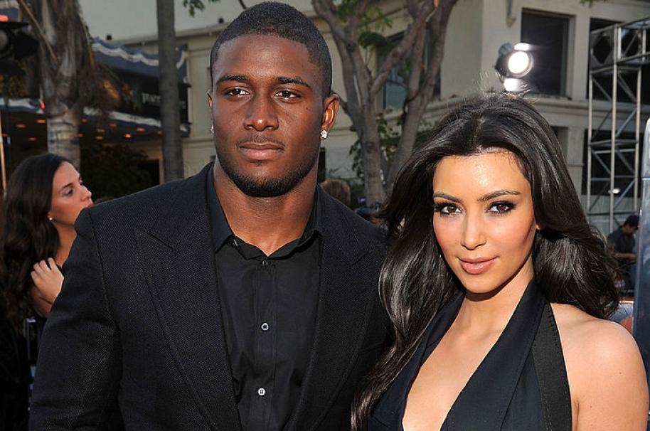 Reggie Bush y Kim Kardashian.