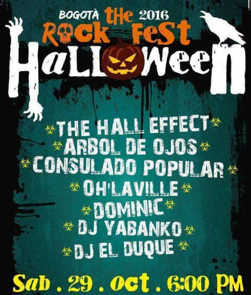 Fiesta Rock fest Halloween