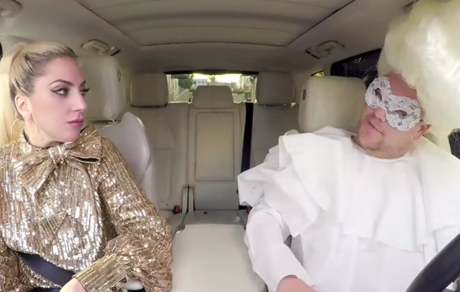 Lady Gaga Carpool Karaoke con James Corden