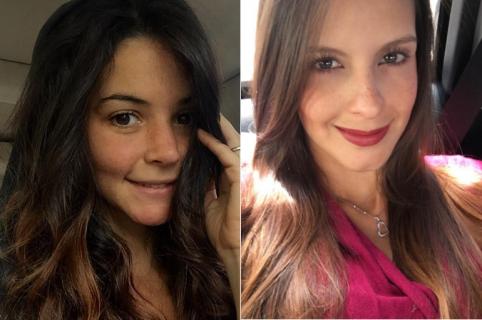 'Maleja' Restrepo, actriz de 'Sala de urgencias 2', y Laura Acuña, presentadora de 'Muy buenos días'.