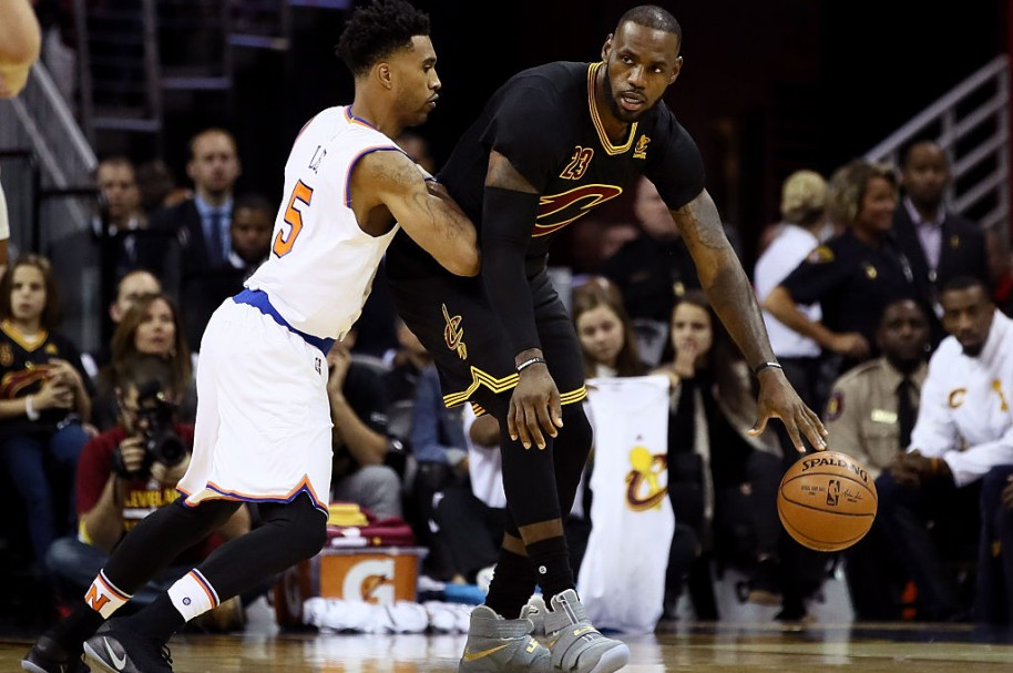 LeBron James y Courtney Lee
