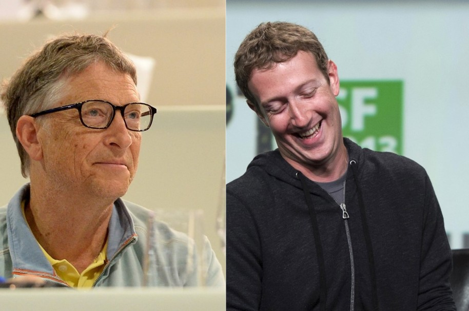 Bill Gates y Mark Zuckerberg
