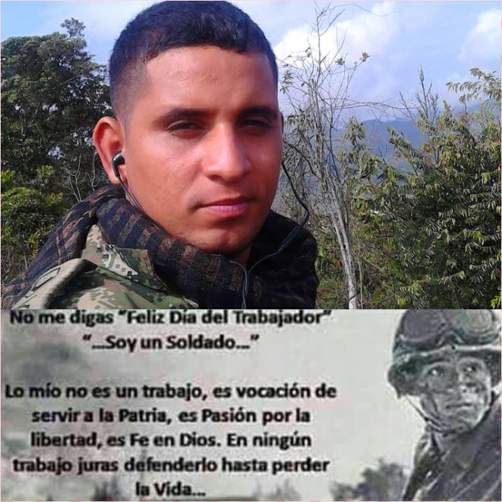 Saulo Esleth Castellanos Rodríguez, cabo segundo del Ejército