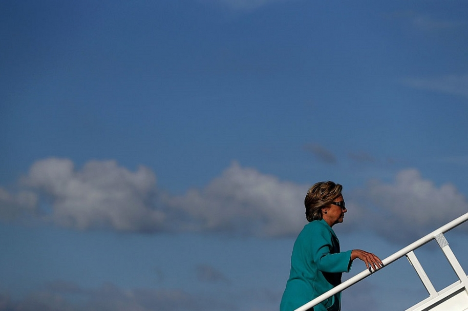 Clinton en Daytona Beach