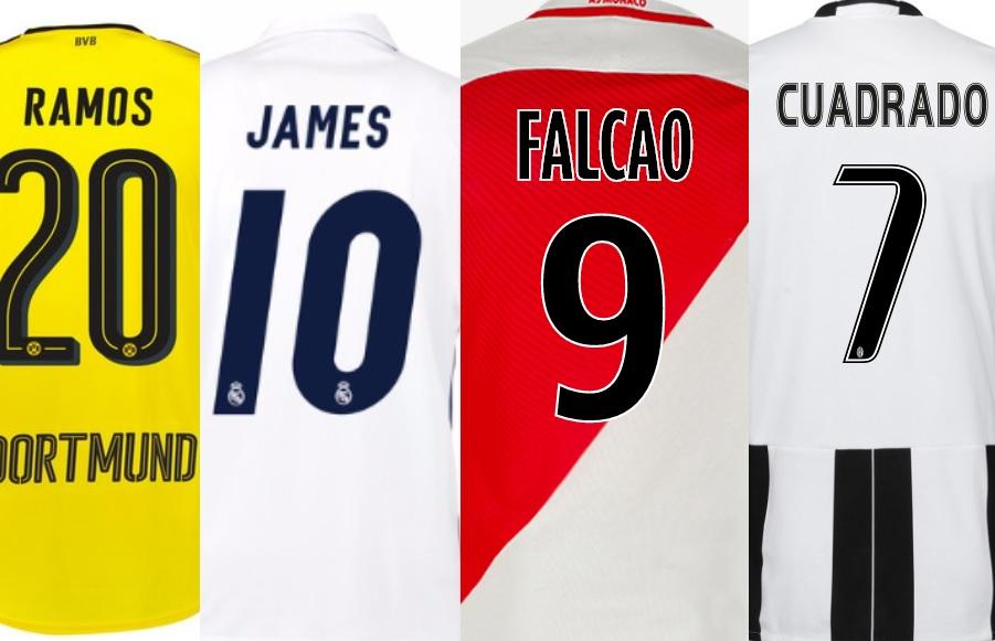 camisetas colombianos champions