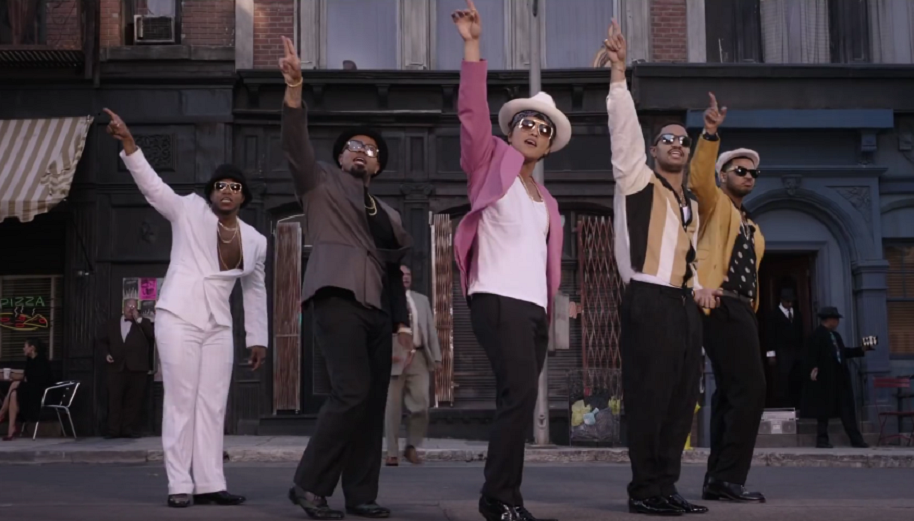 Video de 'Uptown Funk' de Bruno Mars y Mark Ronson