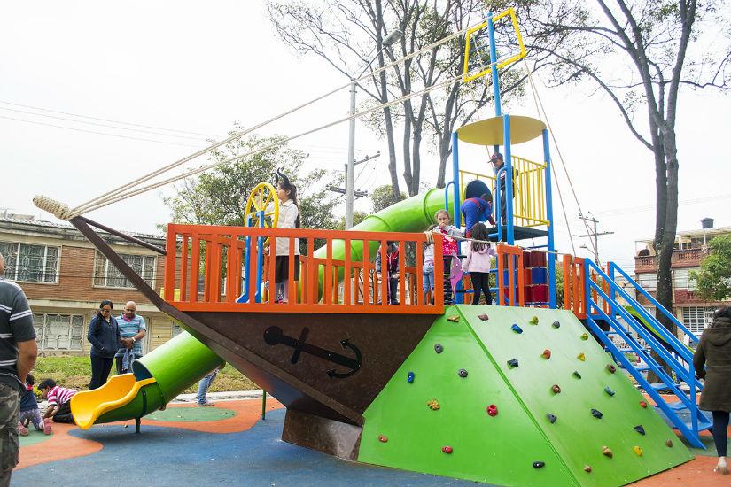 Barco del parque de Ciudad Jardín