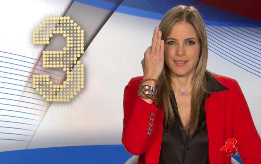 Adriana Tono, presentadora de CM&