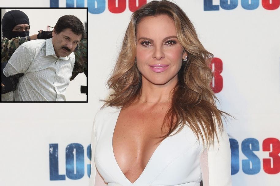 Kate del Castillo, actriz mexicana, y 'el Chapo' Guzmán, capo  del cartel del Sinaloa.