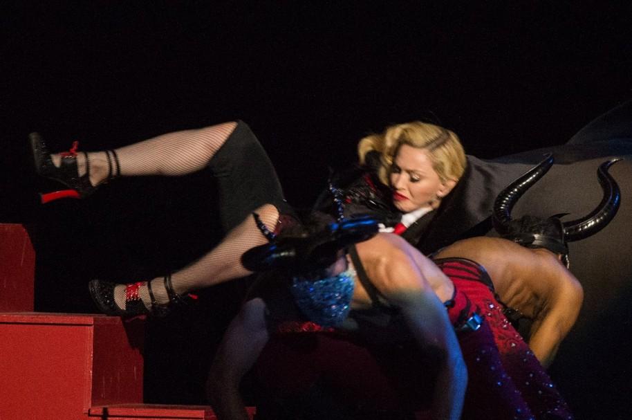 Madonna, 'la Reina del pop'.