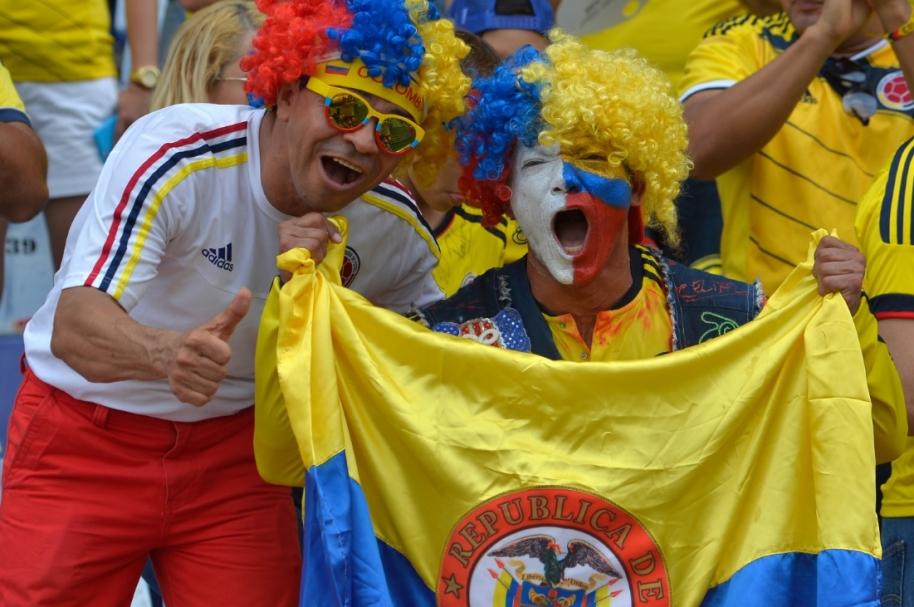 himno Colombia Chile AFP