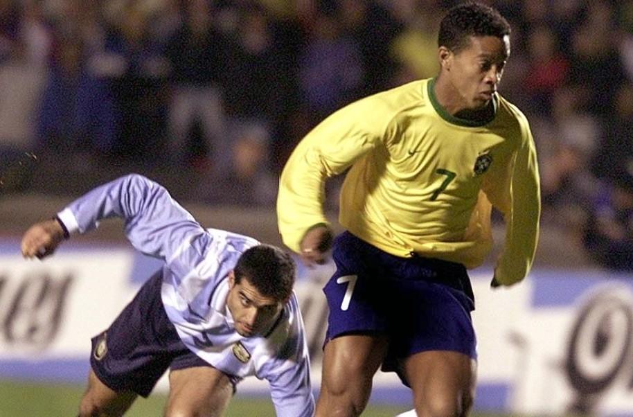 Ronaldinho Argentina AFP