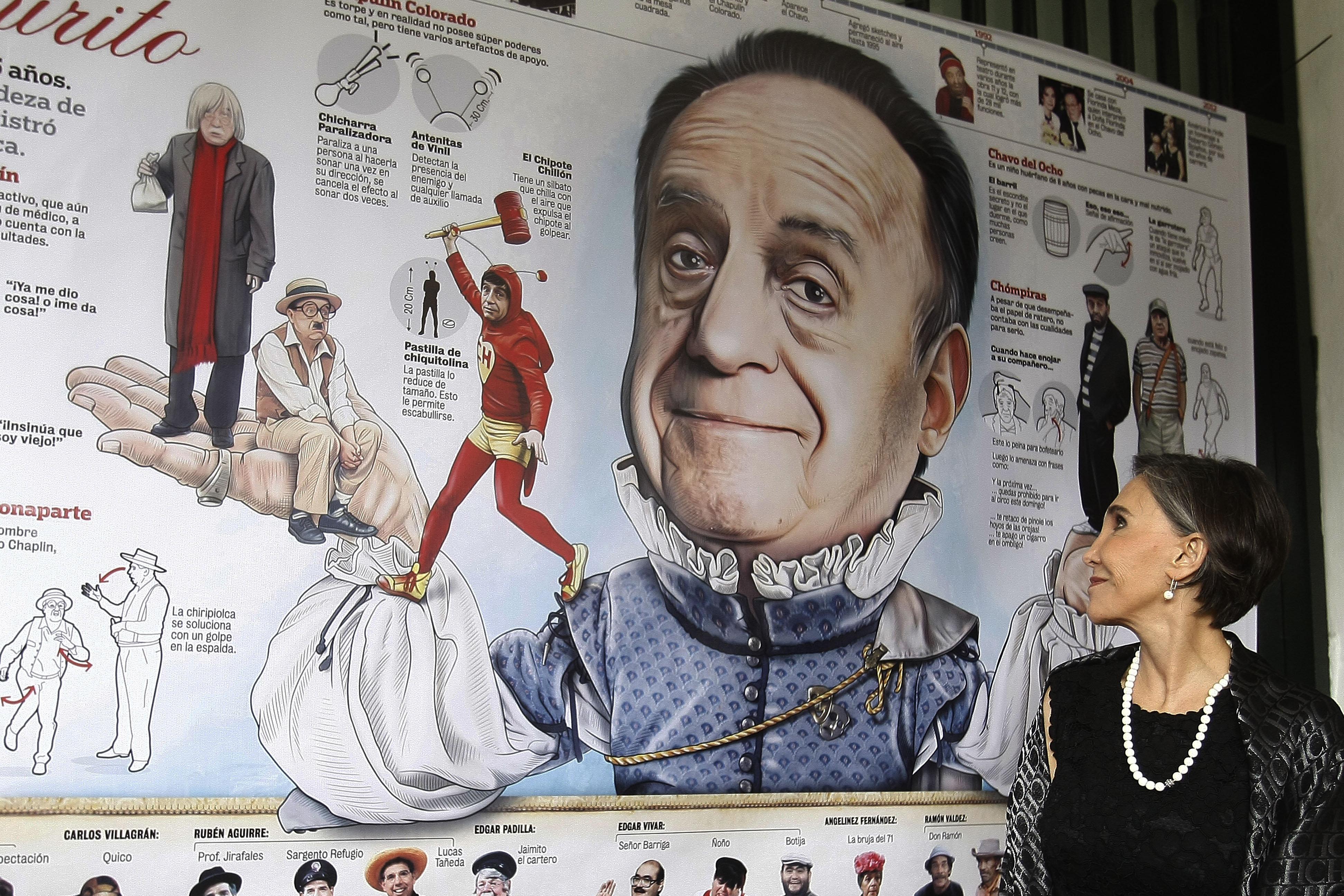 Florinda Meza, durante el 23 Festival Internacional de Caricatura