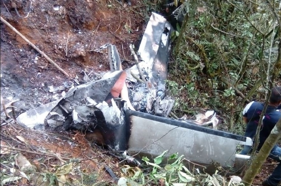 Accidente aéreo en Antioquia