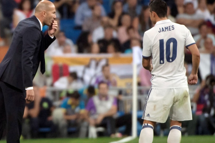 Zidane James AFP