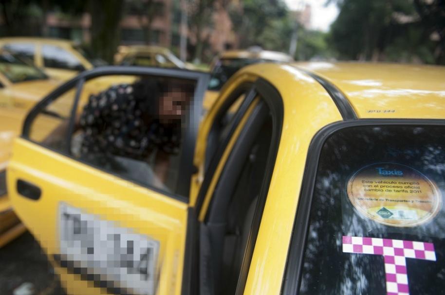 Taxi ilustración