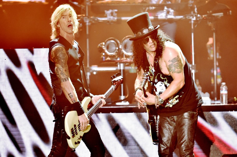 Duff McKagan y  Slash