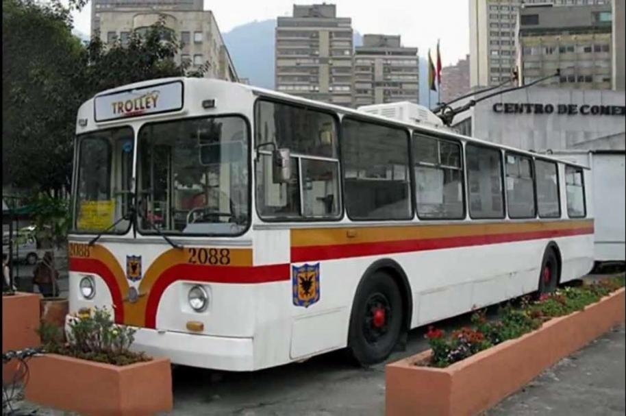 Trolebuses en Bogotá