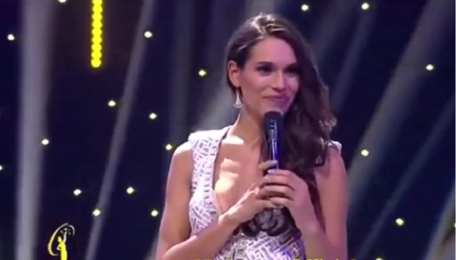 Catalina Cáceres, Señorita Chile 2016.