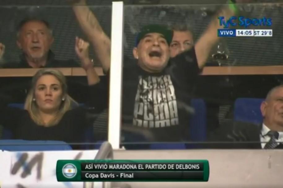 Maradona Copa Davis