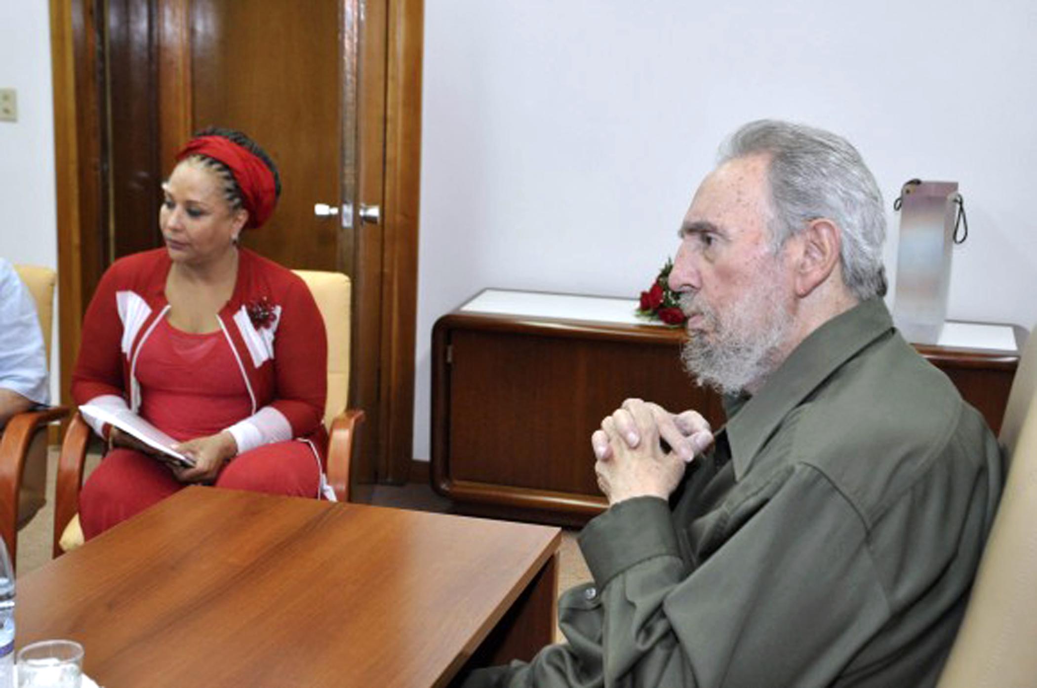 CUBA-COLOMBIA-CASTRO-CORDOBA