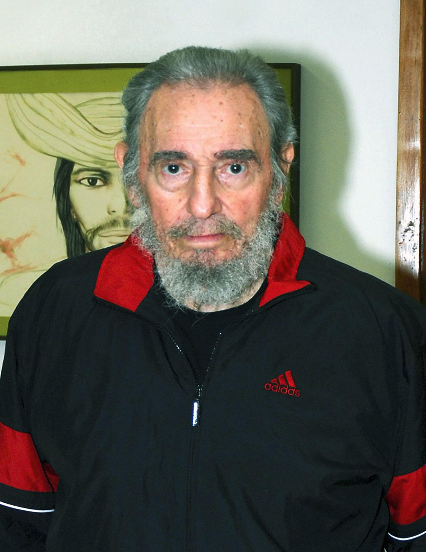 Fidel Castro usaba Adidas