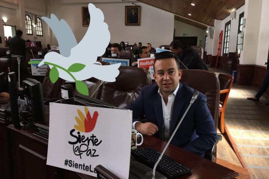 Yefer Vega, concejal de Cambio Radical