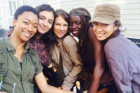 Actrices de 'The Walking Dead'.