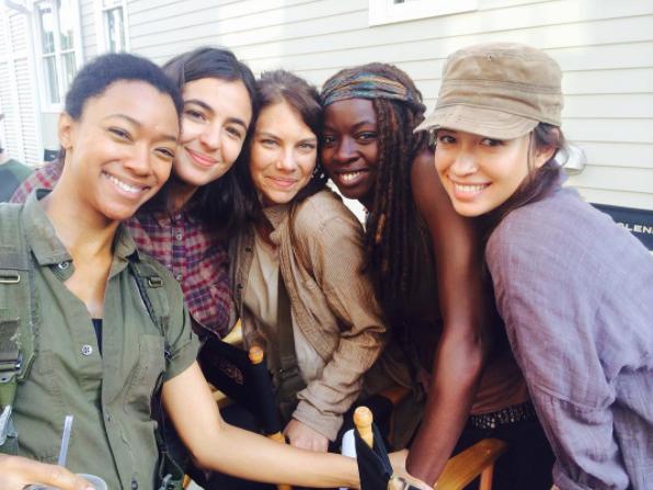 Actrices de 'The Walking Dead'.
